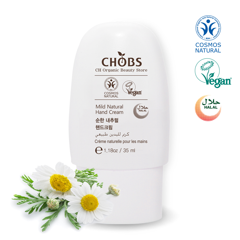[BDIH]CHOBS(찹스) 순한 내츄럴 핸드크림 35ml